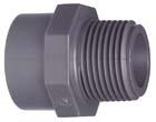 "Picture of PVCU Adaptor  Bush Equal  PN15 ::2"""